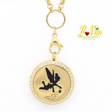 """Necklace diffuser of perfume or essential oil """"The Fairy of Happiness"""""""