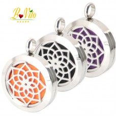 """Necklace diffuser of perfume or essential oil """"The lotus"""""""