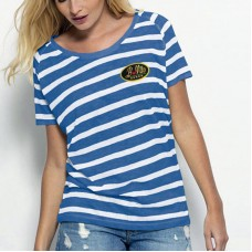Woman's Organic Sailor T-Shirt, Short Sleeve