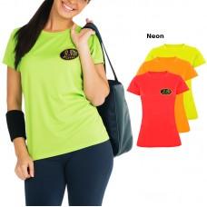 Female Short Sleeve Breathable T-Shirt