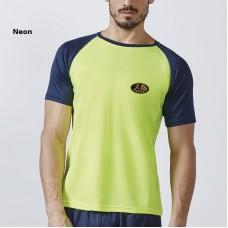 Bicolour T-Shirt, Short Sleeve Breathable, for men, unisex