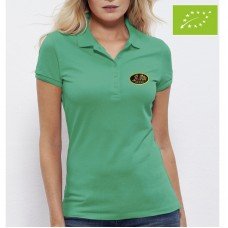 Organic Polo, Short Sleeve for woman