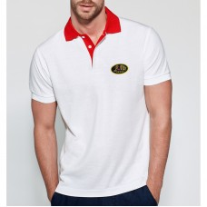 Hight Quality Bicolor Short Sleeve Polo for man