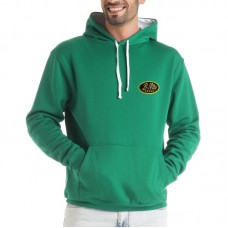 Hooded Long Sleeve Bicolor Sweater for man